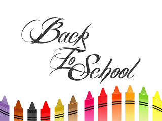 nice and beautiful abstract, banner or poster for Back to School with nice and creative design illustration in a background.