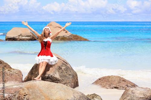 christmas on the beach praslin island seychelles - Christmas On The Beach