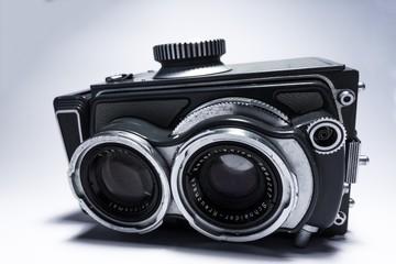 Sehr alte und seltene zweiäugige Spiegelreflexkamera aus 1930