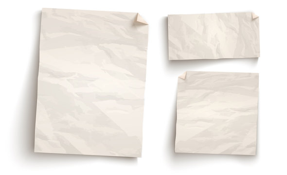 Vintage white paper.
