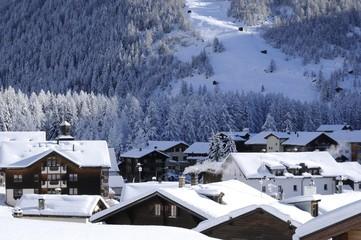 Oberwald, Goms, Valais, Suisse
