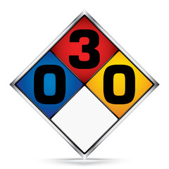 International  Diamond 0-3-0 Symbols,White,Blue,Red,Yellow Warning Dangerous icon on white background,Attracting attention Security First sign,Idea for,graphic,web design,Vector,illustration,EPS10