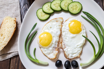 Image with fried eggs