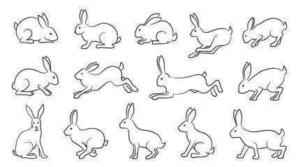 rabbits comics line