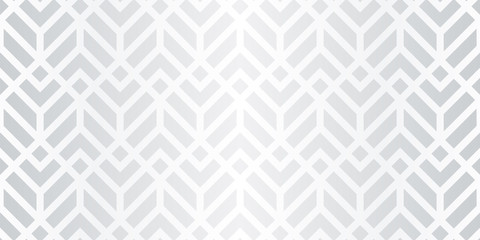 Silver Pattern. Seamless Vector. Wall mural