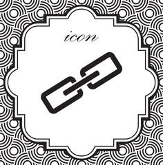 Vector icon chain