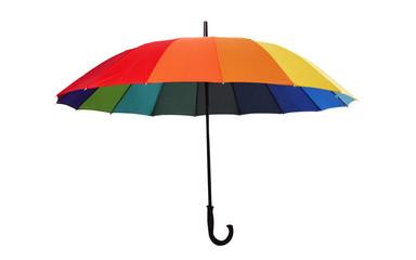 Under Colorful Umbrella