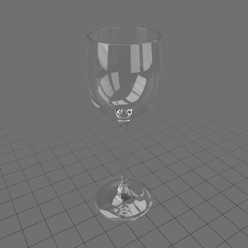 Alsace wine glass