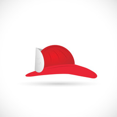 Firefighter Hat Illustration