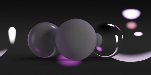 Jewelry product light (purple)