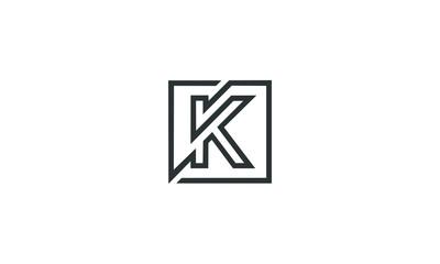 abtract A logo alphabet