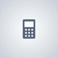 Calculator icon, calculation icon