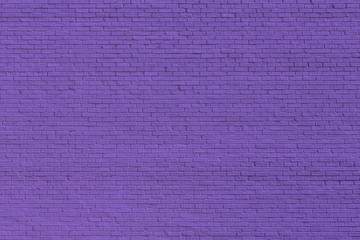 Purple brick wall for background or texture