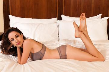 Mauve lingerie