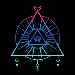Sacred geometry, third eye