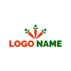 Carrot logo, icon