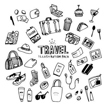 Travel Illustration Pack