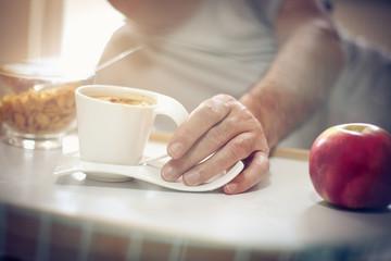 Foto op Plexiglas Bar Morning and breakfast.