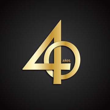 Icono 40 años
