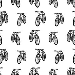 pattern of the bicycles sketches