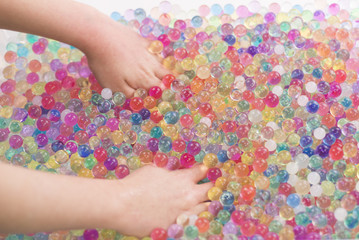 children water balls game orbeez