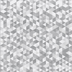 Abstract striped geometric triangle pattern gray color background and texture.