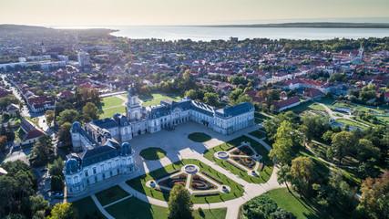 Festetics Castle in Keszthely, Hungary