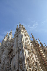 Famous Milan Cathedral