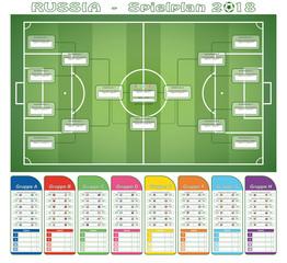 Fußball - Spielplan 2018