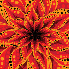 Super Flower Red