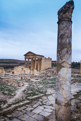 Dougga, Tunisia, Tunis - Ancient Roman city