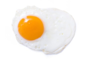 Fried yellow egg