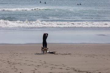 サーフィンを楽しむ木崎浜海岸4