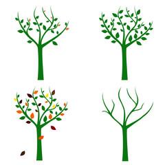 Season illustration. Vector