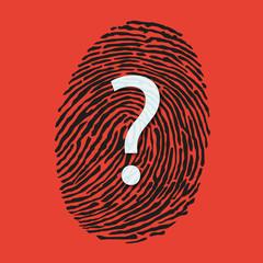 Empreinte - empreinte digitale - identité - crime -identification - enquête - énigme - mystère - coupable