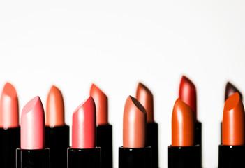Lipstick. Make up.