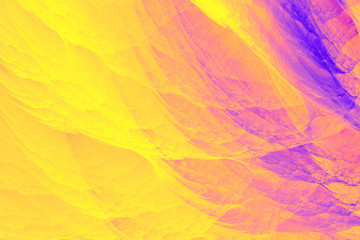 yellow and purple haze fractal background