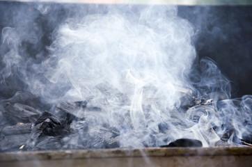 Obraz Tekstura dymu - fototapety do salonu