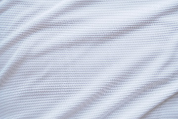 Aluminium Prints Fabric White football jersey clothing fabric texture sports wear background