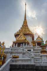 Wat Traimit - Temple of the Golden Buddha in China Town Bangkok, Thailand