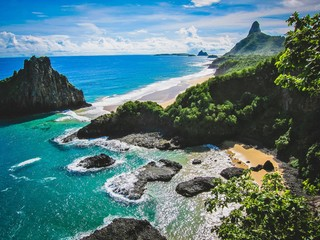 blue island paradise Fototapete