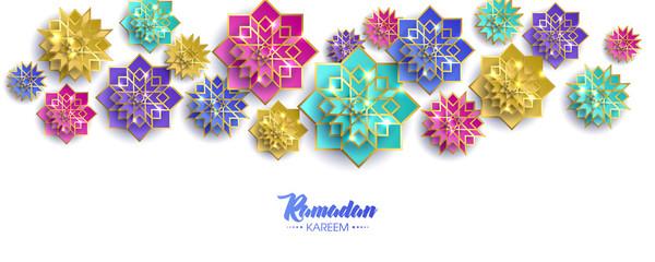 Ramadan Kareem Arabic calligraphy, Ramadan Kareem beautiful greeting card with arabic calligraphy, template for menu, invitation, poster, banner, card for the celebration of Muslim festival, sale.
