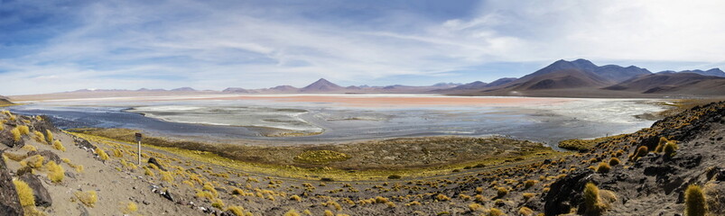 Laguna Colorada in Bolivia