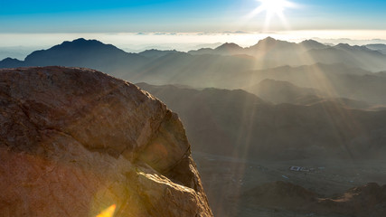 Mount Sinai, Mount Moses in Egypt.