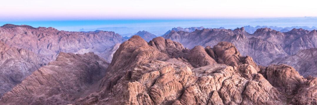 Mount Sinai, Mount Moses in Egypt.
