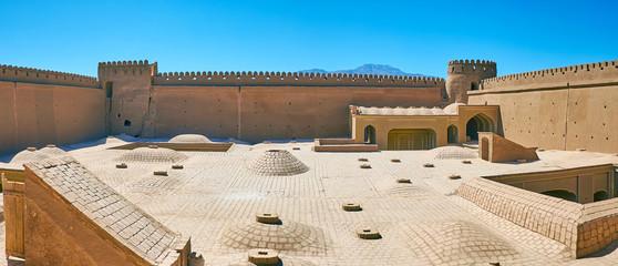 In Rayen Castle, Iran