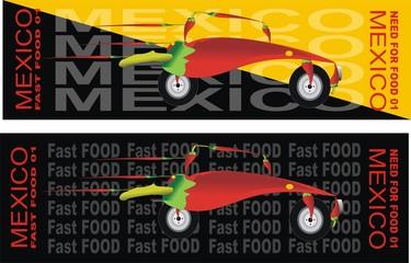 2 x fast food - mexico