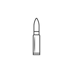 automat bullet line icon