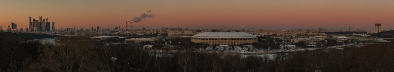 Moscow Panorama IV