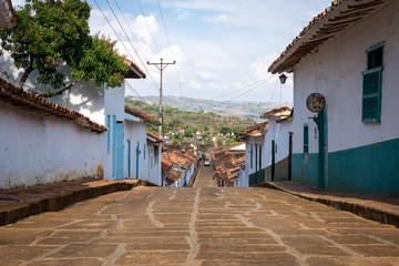 Village de Barichara, Santander, Colombie